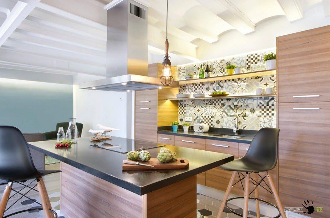 Кухни на 13 кв.м 2017-2018 современные идеи